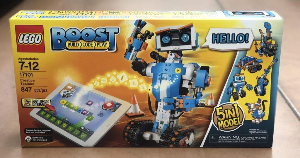 LEGO Boost Build Code