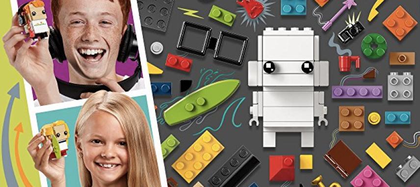 LEGO BrickHeadz Go Brick Me Building Kit Only $19 99 (Build