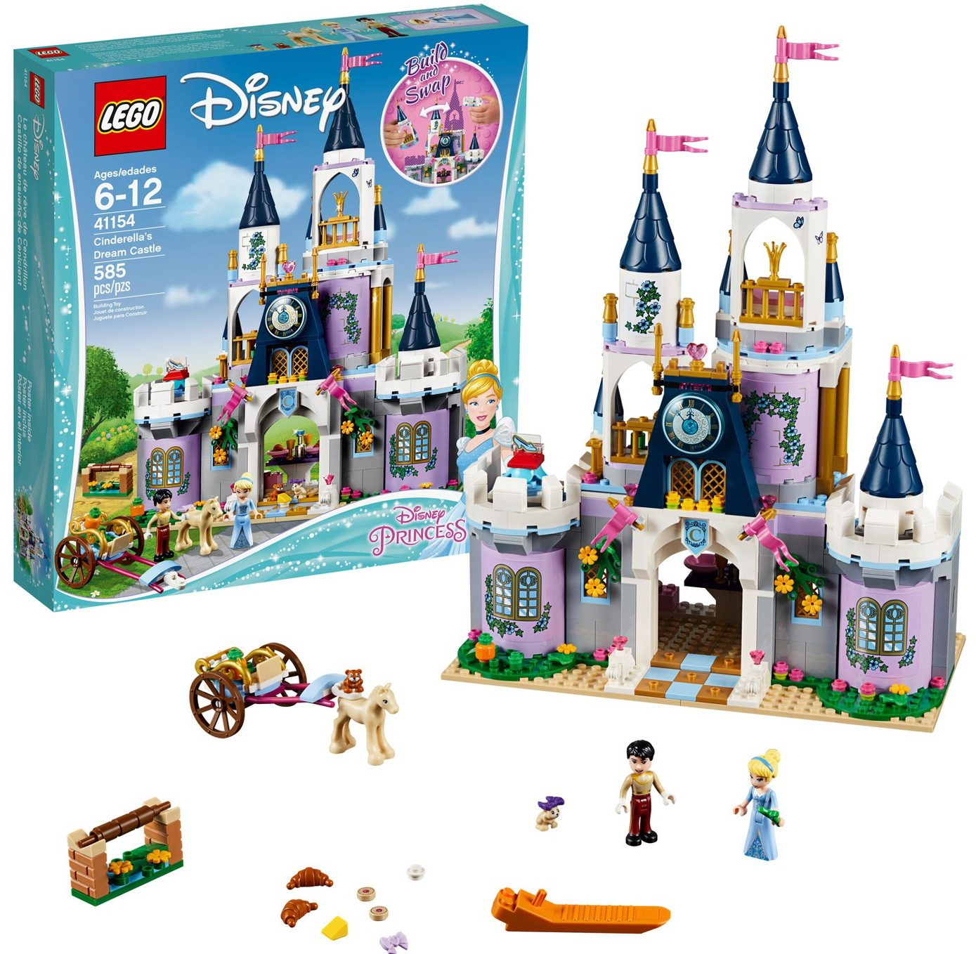 LEGO Disney Cinderella's Castle Only $45.99 Shipped After