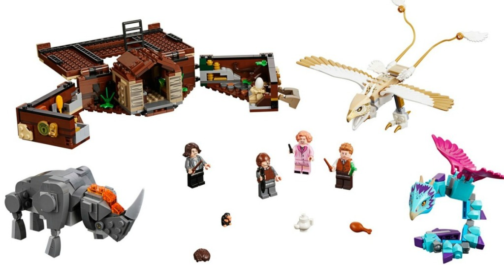 LEGO accessories and minifigures