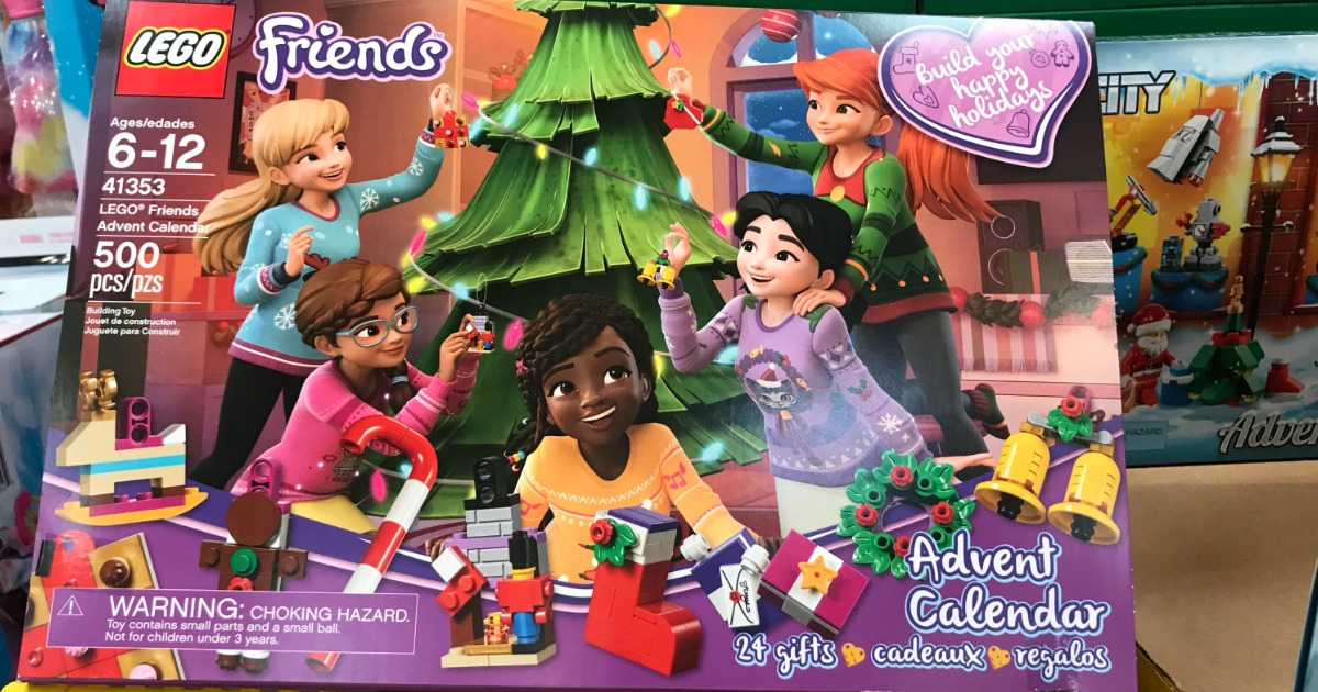 lego friends advent calendar only shipped. Black Bedroom Furniture Sets. Home Design Ideas