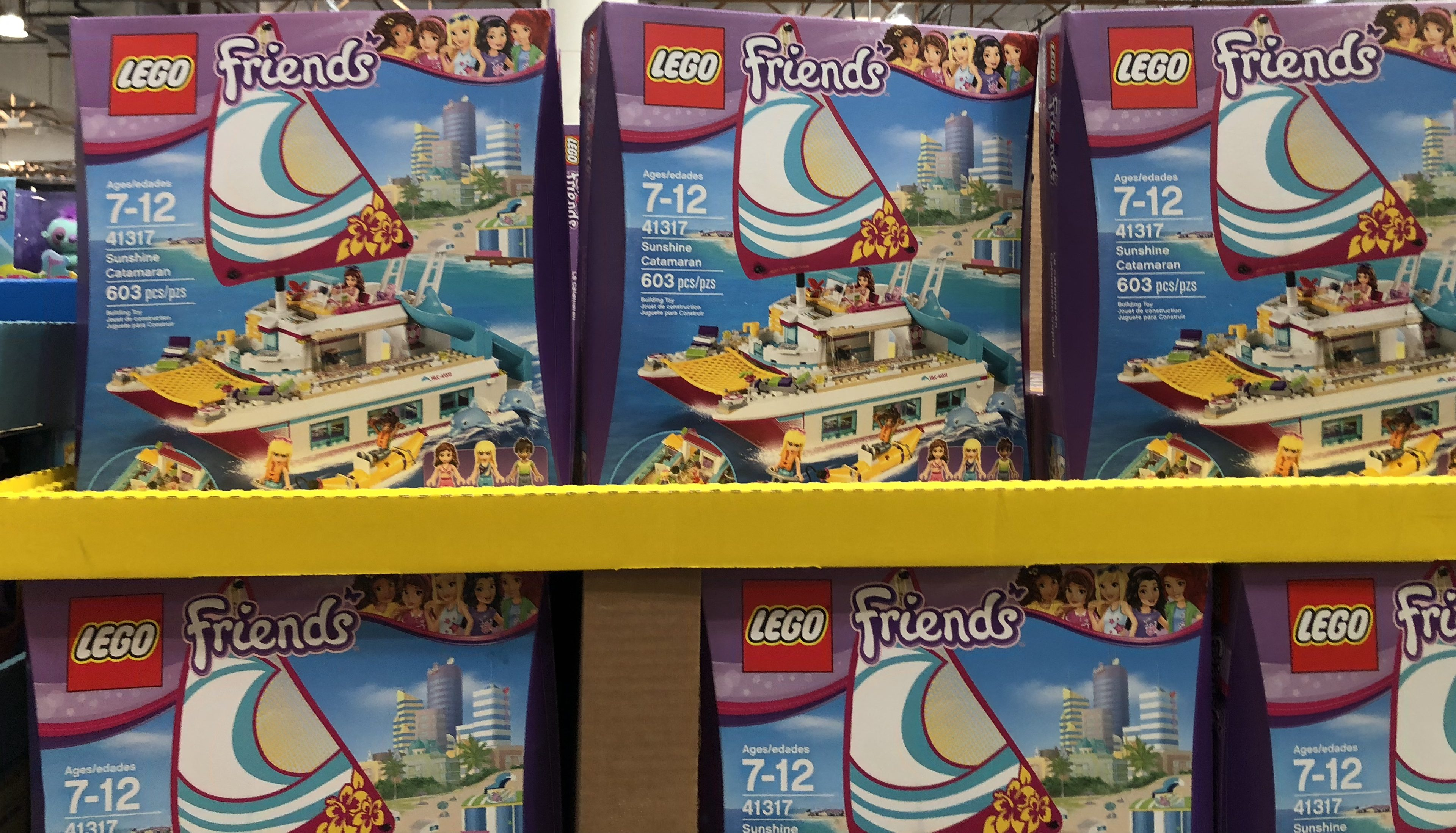 The best holiday toy deals for 2018 include the LEGO Friends Catamaran at Costco