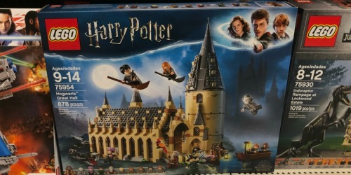 LEGO Harry Potter Hogwarts Great Hall Set Only $79.99 Shipped at Walmart.com (Regularly $100)
