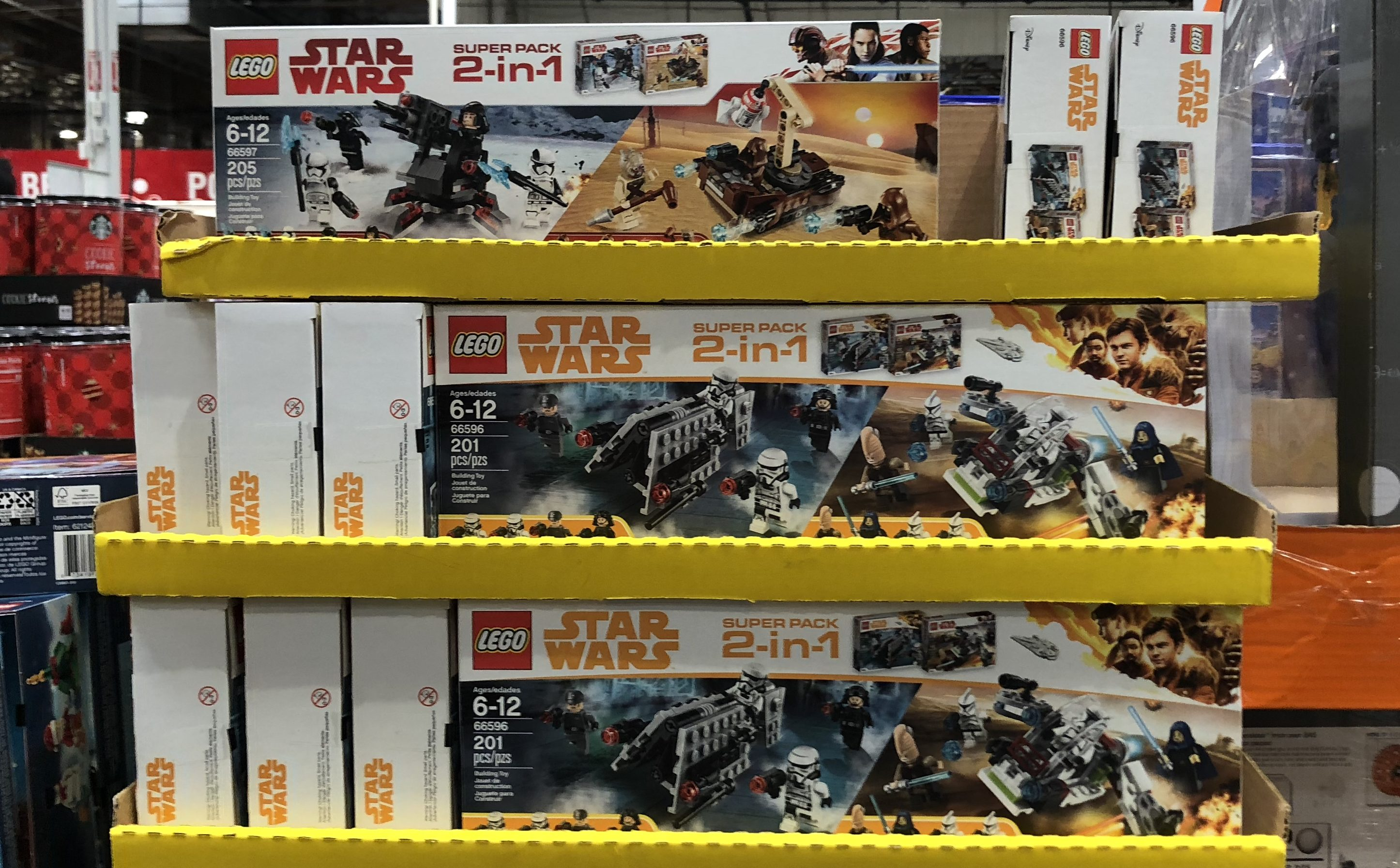 The best holiday toy deals for 2018 include LEGO Super Packs 2-in-1 at Costco