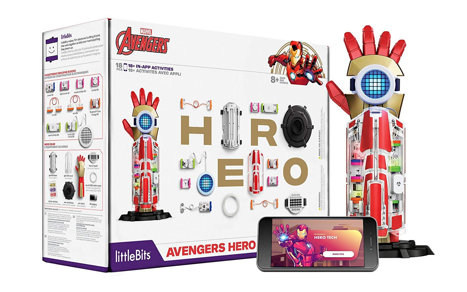 Top 2018 Christmas Toys for Amazon - LittleBits Avengers Hero Inventor Kit