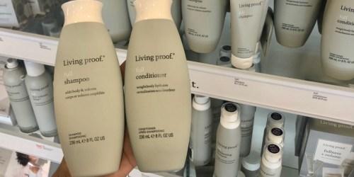 50% Off Living Proof Shampoo & Conditioner, Revlon Hair Dryer & More at Ulta Beauty