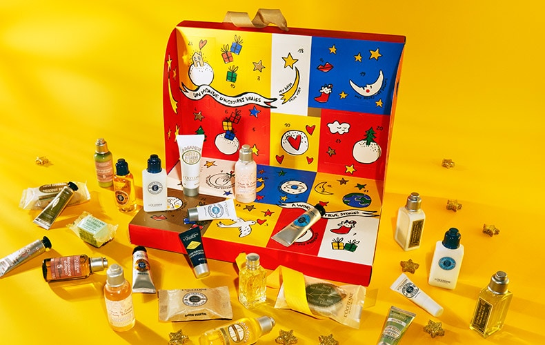 best 2018 advent calendars for kids and adults – L'Occitane Advent Calendar