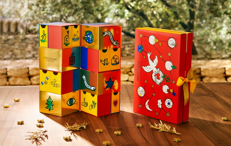 best 2018 advent calendars for kids and adults – L'Occitane Advent Calendar2