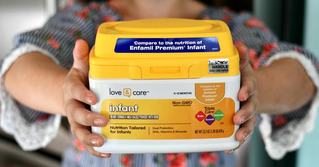 Love & Care Infant Formula on Amazon
