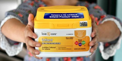 Amazon's New Love & Care Infant Formula $18.46 Shipped (Non-GMO, Gluten-Free, & Certified Kosher)
