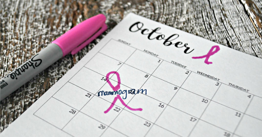 October is Breast Cancr Awareness Month
