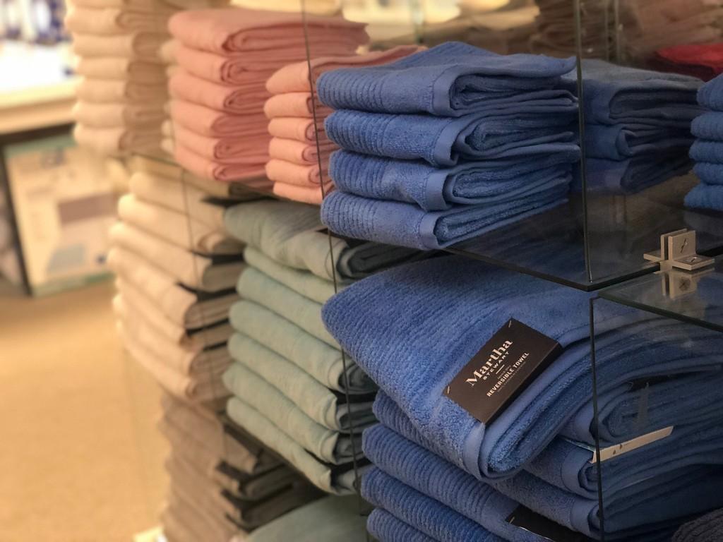 folded martha stewart towels at macy's