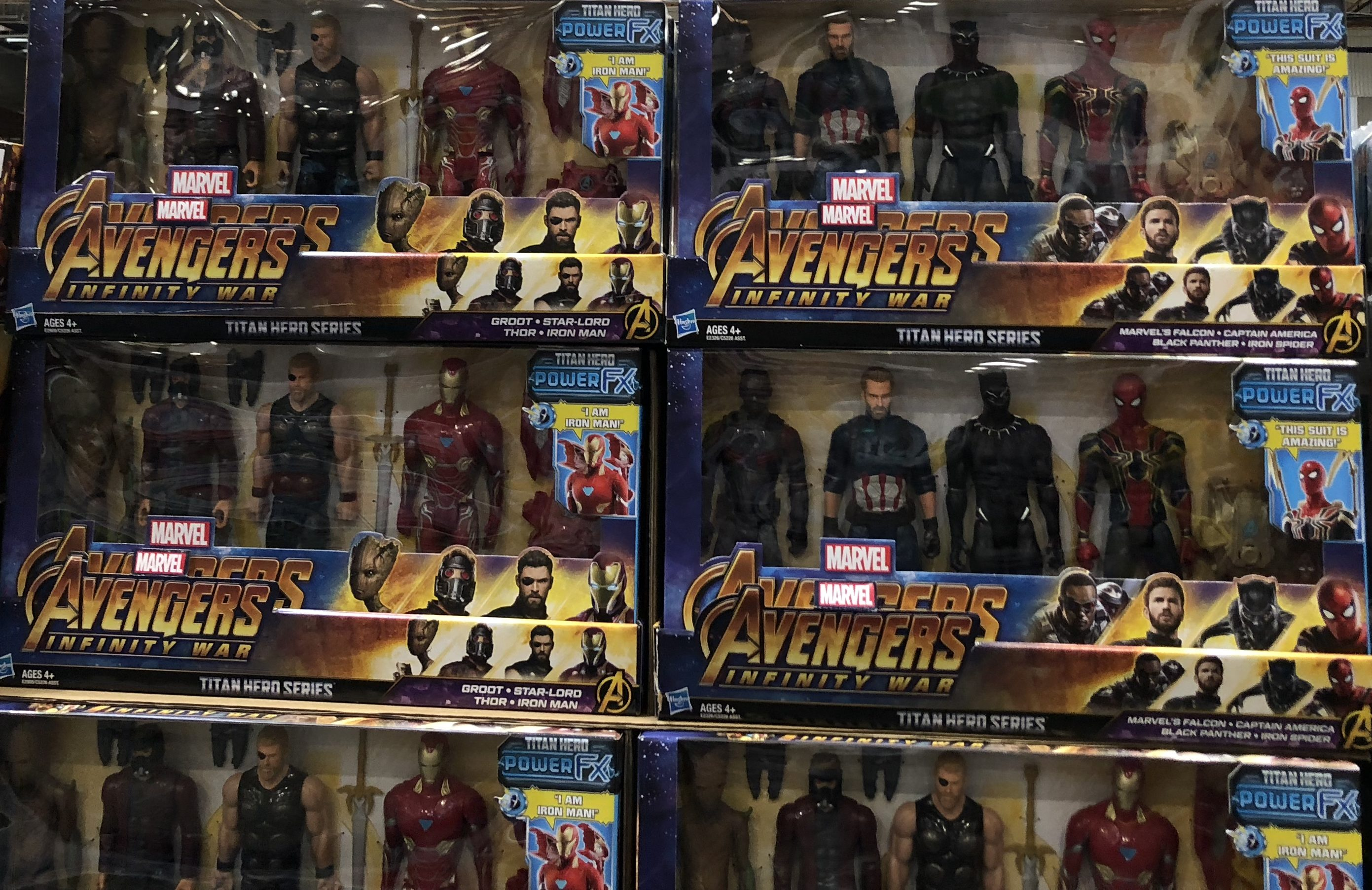 The best holiday toy deals for 2018 include Marvel Avengers Infinity Sets at Costco