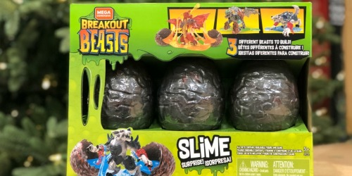 Costco: Mega Construx Breakout Beasts 3-Pack Only $19.69 (Just $6.56 Each)