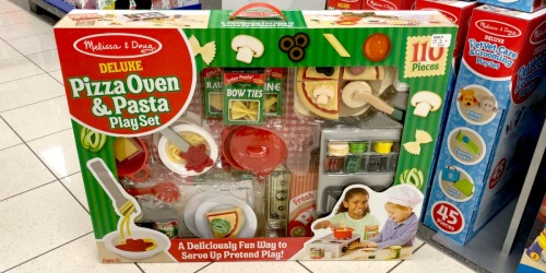 Melissa & Doug Pizza Oven & Pasta Playset Only $54.99 Shipped + $10 Kohl's Cash