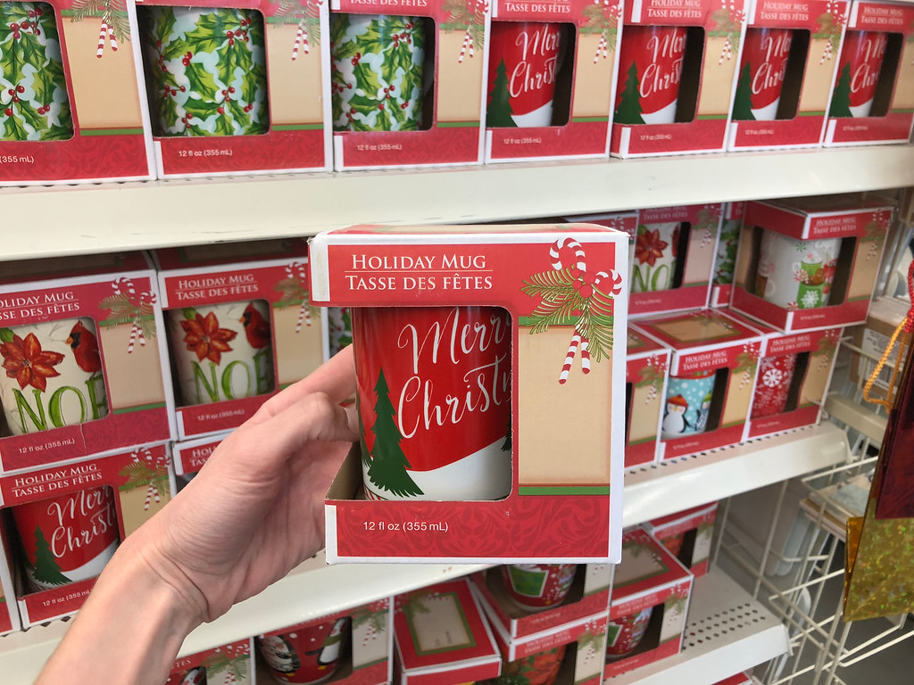 Christmas Mugs Mailboxes Signs More Only 1 At Dollar Tree In Store Online Hip2save