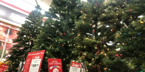 up to 40 off christmas trees at michaels more hip2save - Michaels Christmas Eve Hours