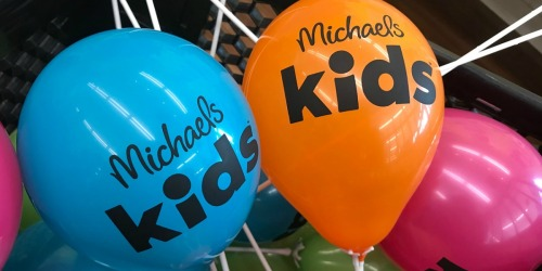 FREE Kids Workshops at Michaels June 2nd – June 7th