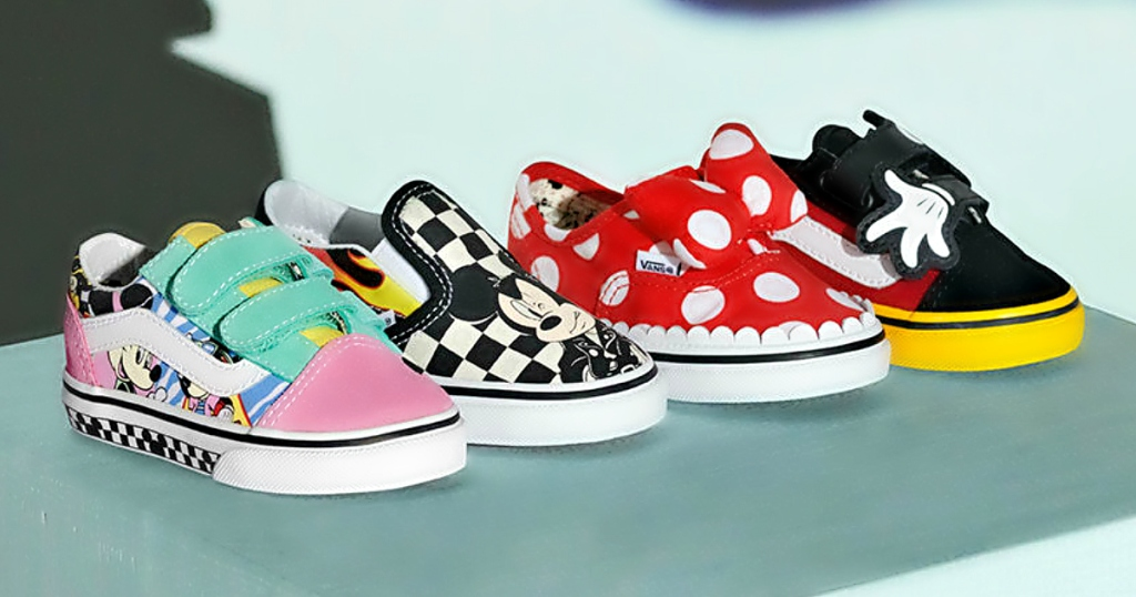 9586e5b7acd Vans Launches NEW 90th Anniversary Mickey Mouse Collection (Starting ...