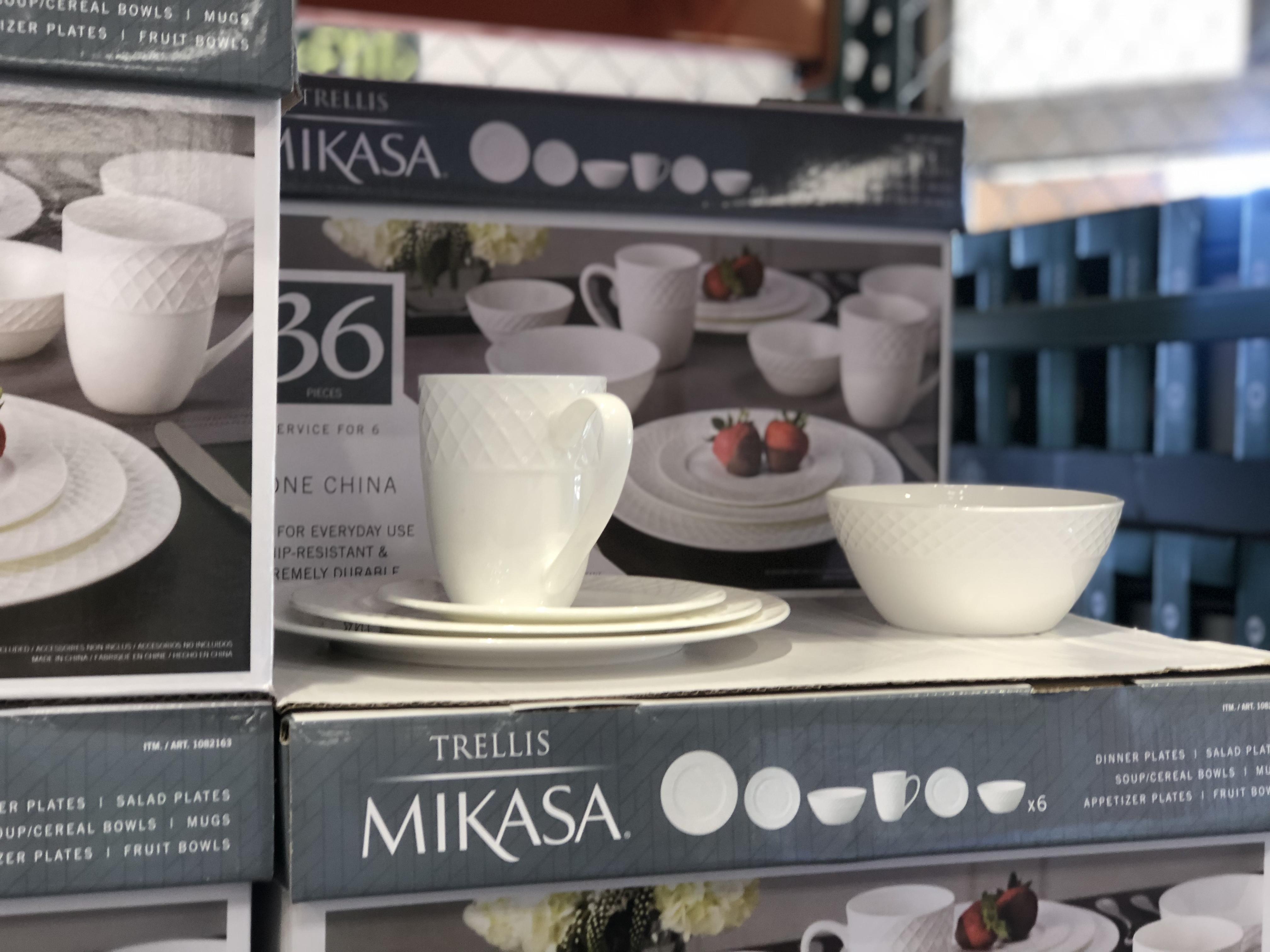Costco deals October 2018 – Mikasa dinnerware at Costco