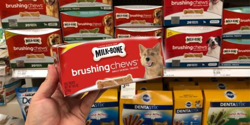 Amazon: Milk-Bone 50-Count Mini Brushing Chews Dog Treats Just $6.93 Shipped & More