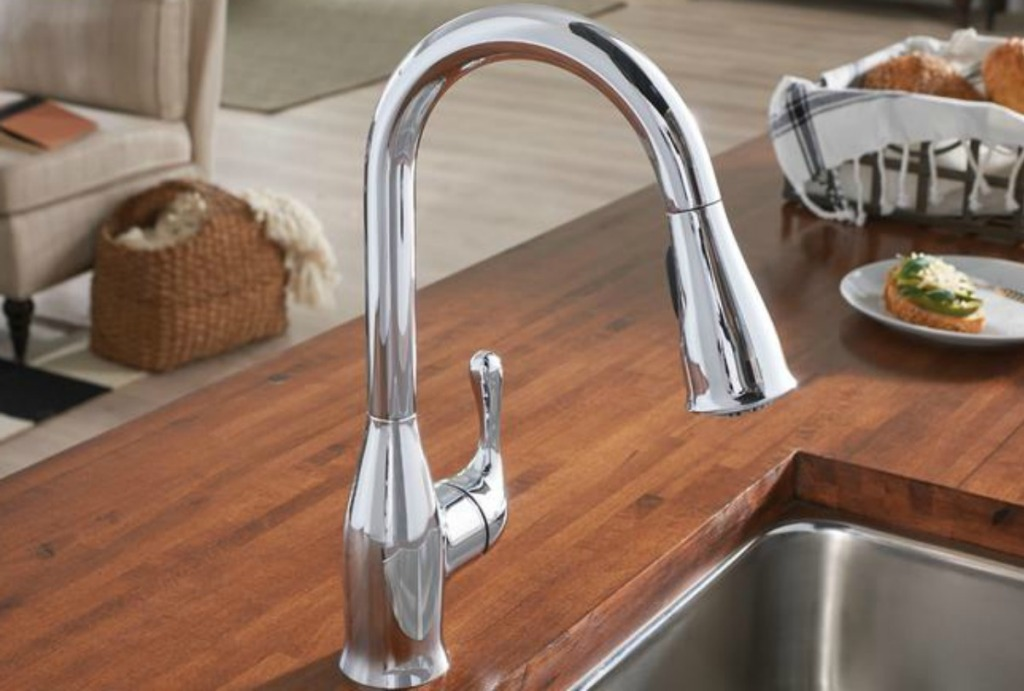 Up to 40% Off MOEN Kitchen Faucets + Free Shipping at Home ...