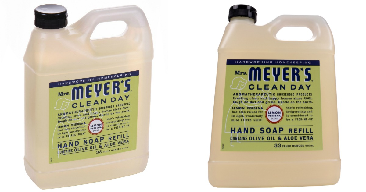 Huge Mrs Meyers Liquid Hand Soap 33oz Refill Just 5 At