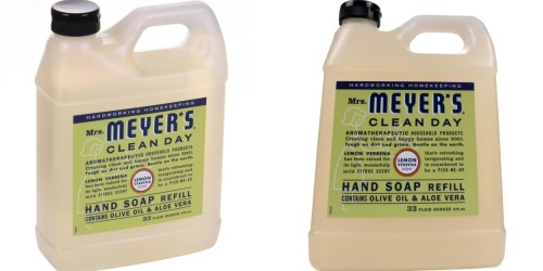 HUGE Mrs. Meyers Liquid Hand Soap 33oz Refill Just $5 at Walmart.com