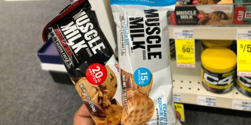 Muscle Milk Protein Bars Only 65¢ Each at CVS
