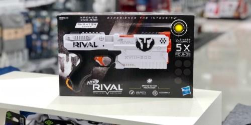 Walmart: NERF Rival Kronos Outdoor Blaster Just $6.99 (Regularly $20)
