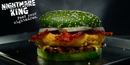 Burger King Nightmare King Burger Available on October 22nd