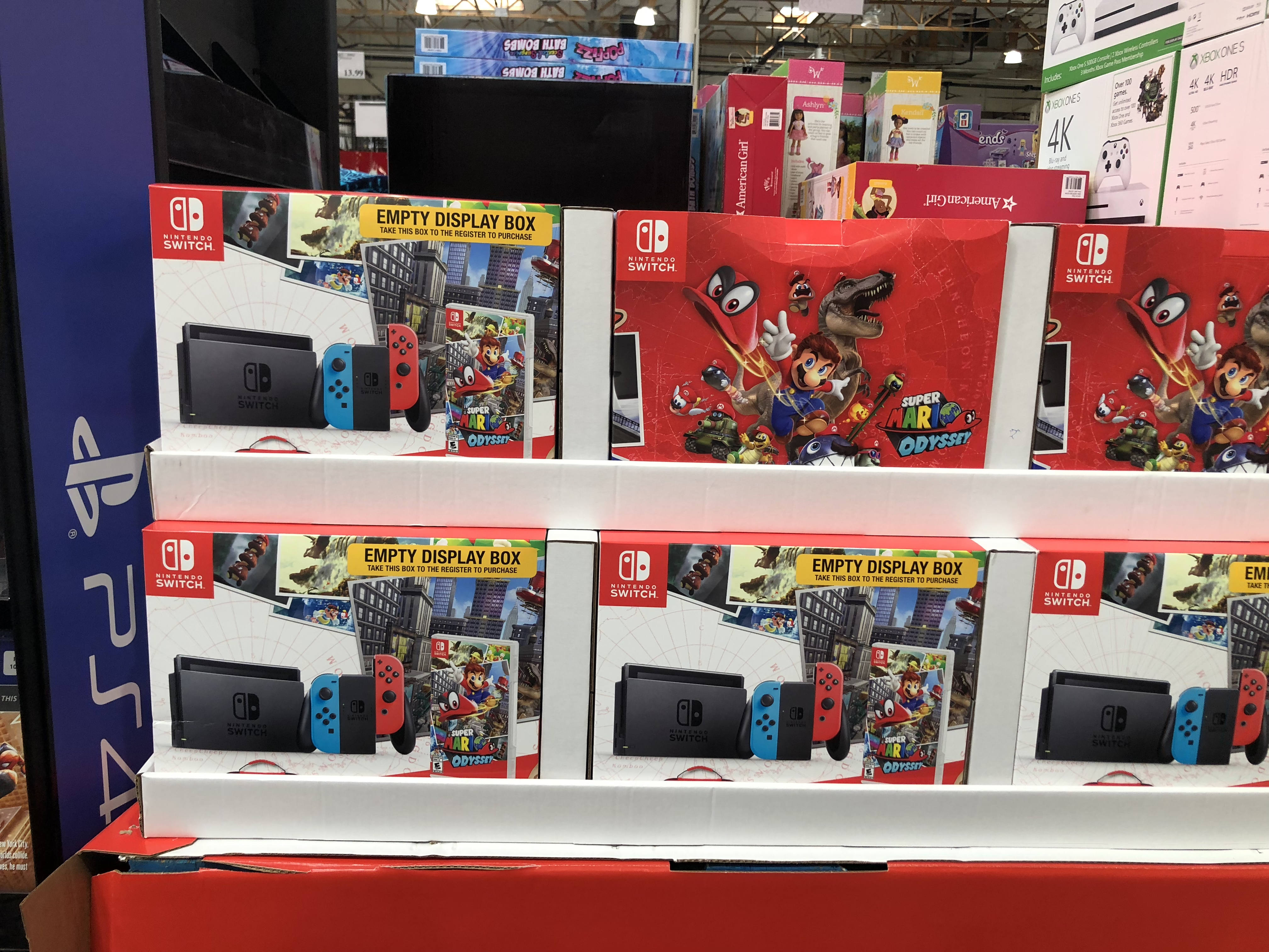 The best holiday toy deals for 2018 include the Nintendo Switch bundle at Costco