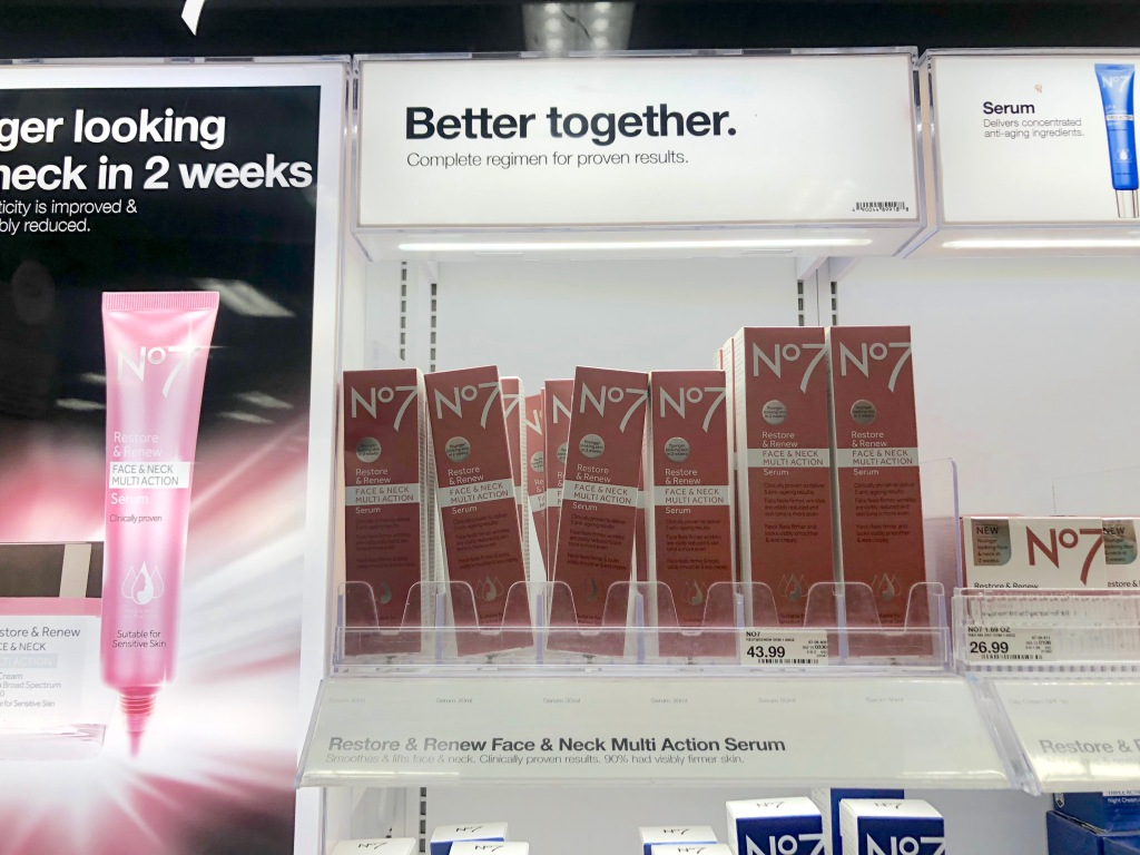 Target com: Buy 1, Get 1 50% Off No7 Serum + Stackable $2