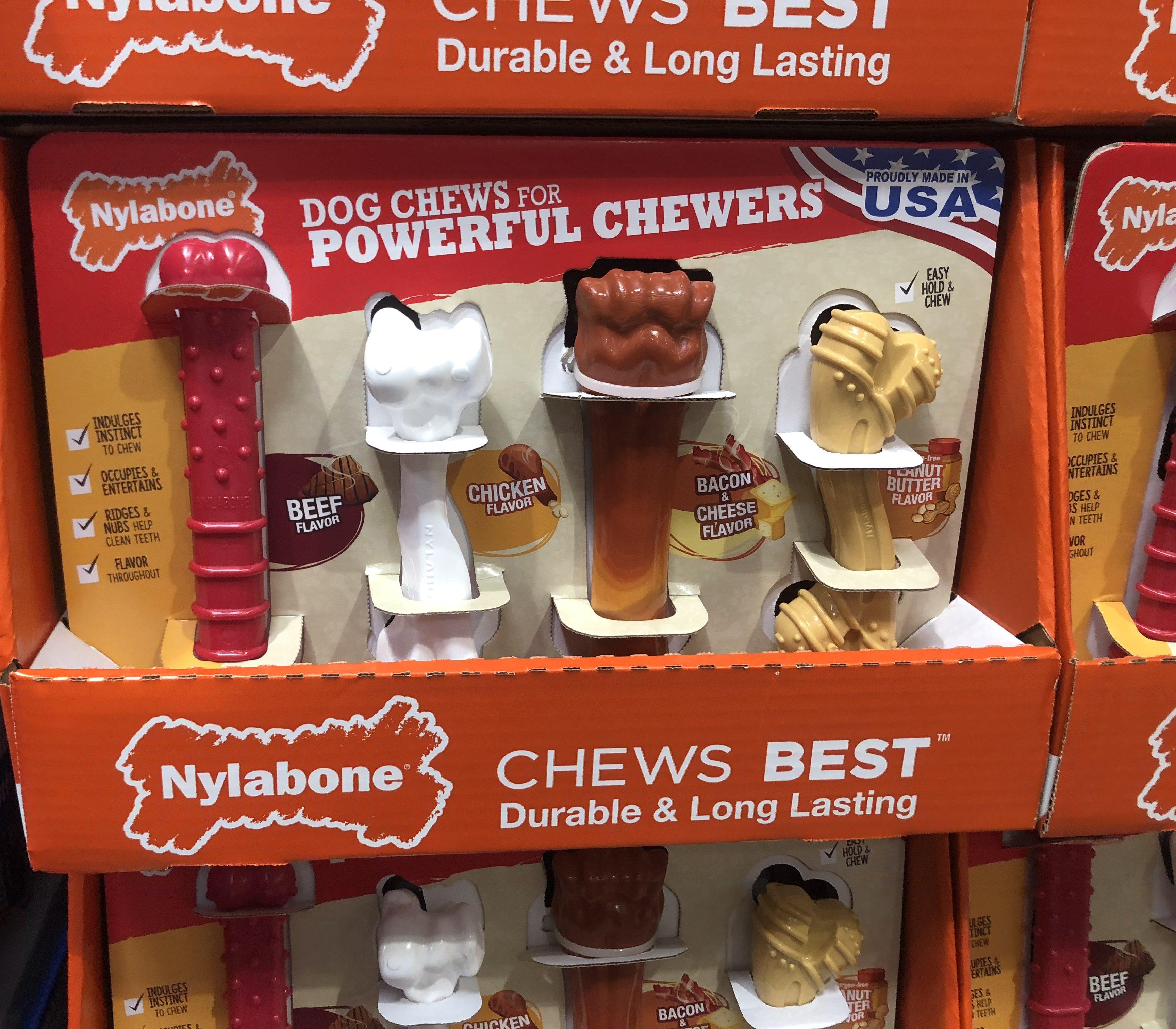 Costco deals October 2018 – Nylabone dog chews at Costco