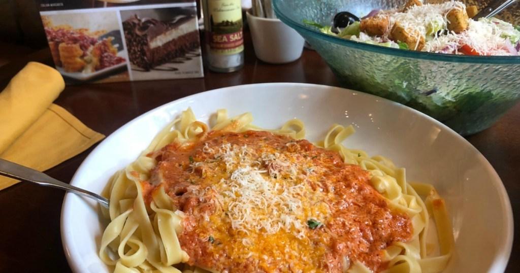 olive garden pasta bowl