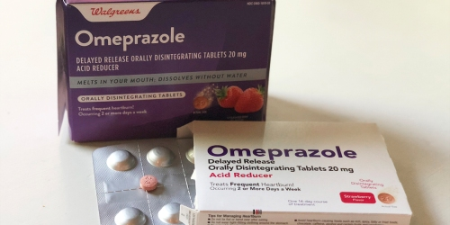 Frequent Heartburn Treatments Getting Spendy? Check Out This Walgreens Omeprazole ODT