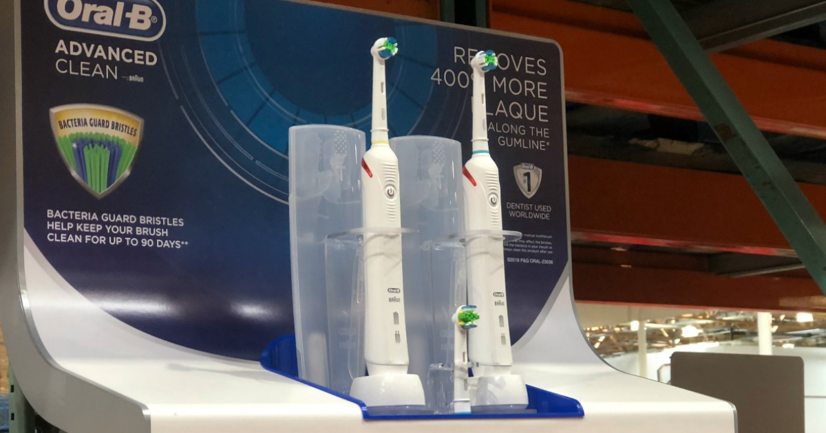 Costco Oral B Advanced Toothbrush 2 Pack Only 64 99 Shipped