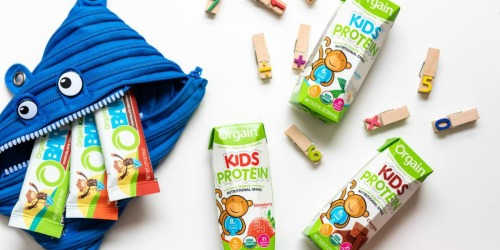 Amazon Prime: Orgain Kids Protein Shakes 12-Count Pack Only $12.28 Shipped (Just $1 Per Shake)