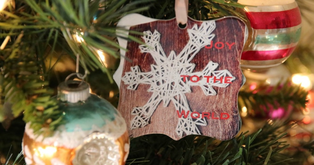 Ornament from Shutterfly