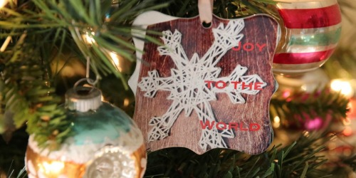Shutterfly Personalized Ornament Only $7 Shipped + Score 10 Free Holiday Cards!