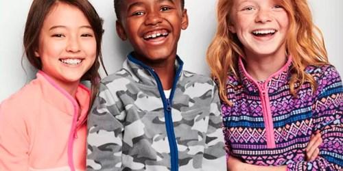 OshKosh Fleece Hoodies & Zip-ups Just $7.97 Shipped (Regularly $24) & More