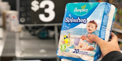 Pampers Splashers Swim Pants Possibly Only $3 or Less at Walmart