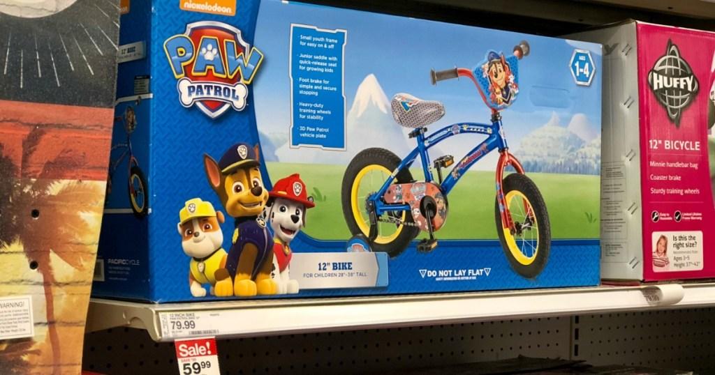 76c658a09db Kids 12″ Paw Patrol Bike as Low as $42.74 Shipped (Regularly $80) at Target