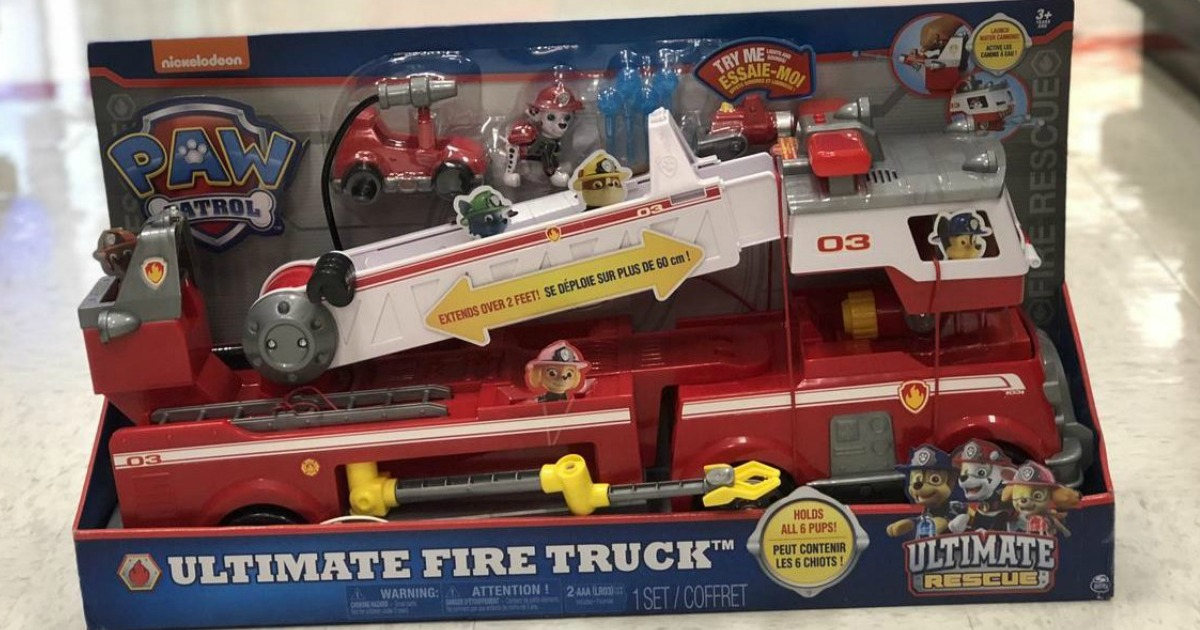 PAW Patrol Ultimate Fire Truck Only $35.99 Shipped