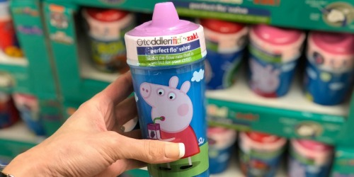 Zak! Toddlerific Perfect Flo Sippy Cups Just $4.99 at ALDI (Peppa Pig, Paw Patrol & More)