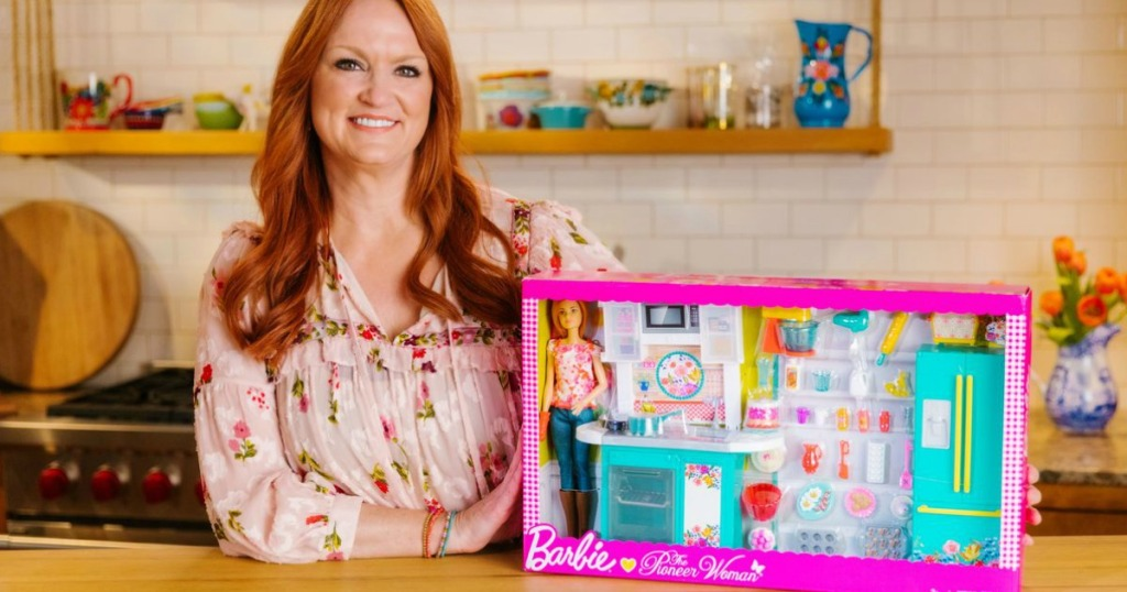 Pre Order Barbie Pioneer Woman Kitchen Playset Just 44 88 Shipped