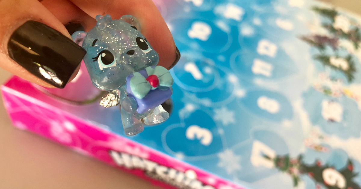 best 2018 advent calendars for kids and adults – closeup of a Hatchimal