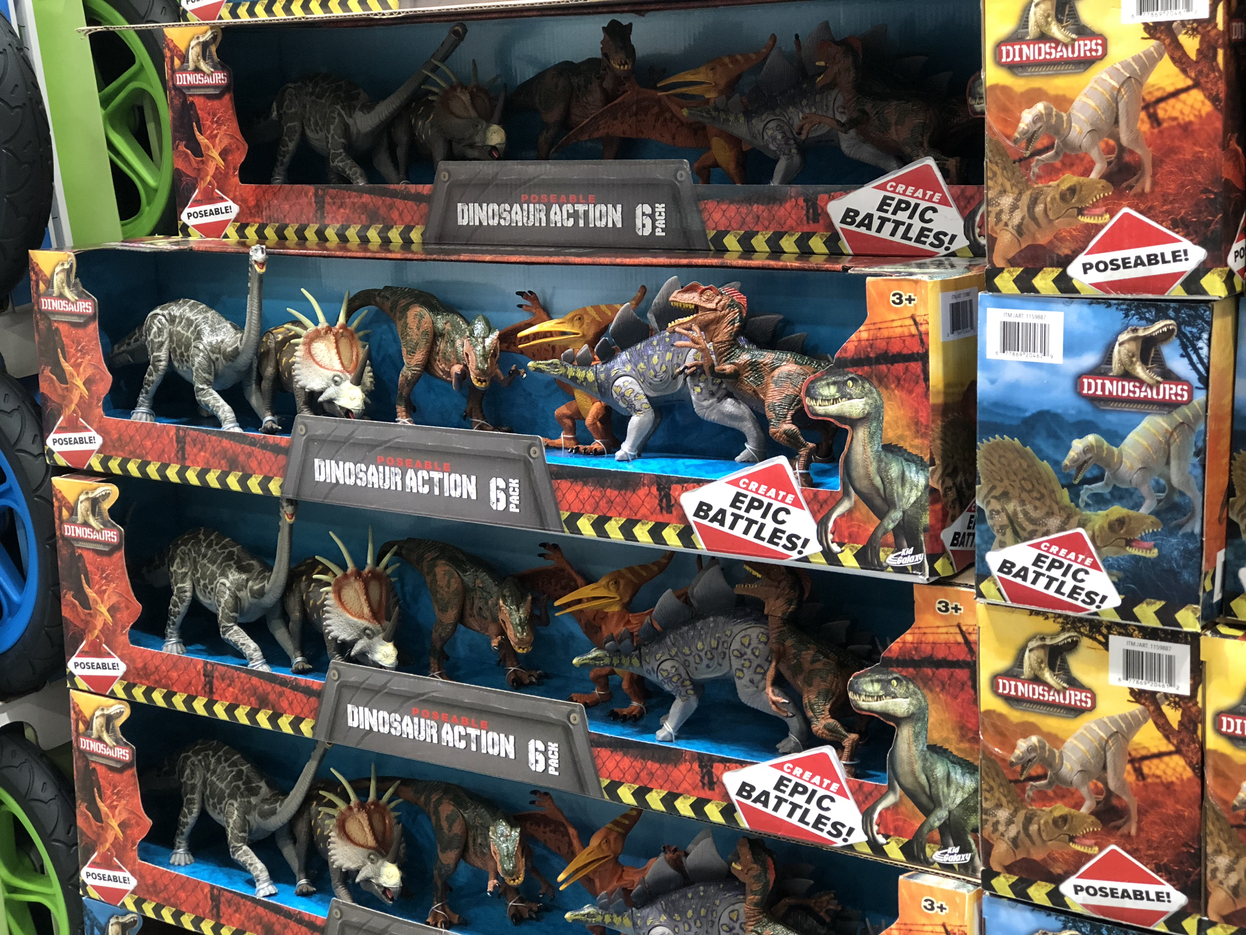 The best holiday toy deals for 2018 include Poseable dinosaurs at Costco