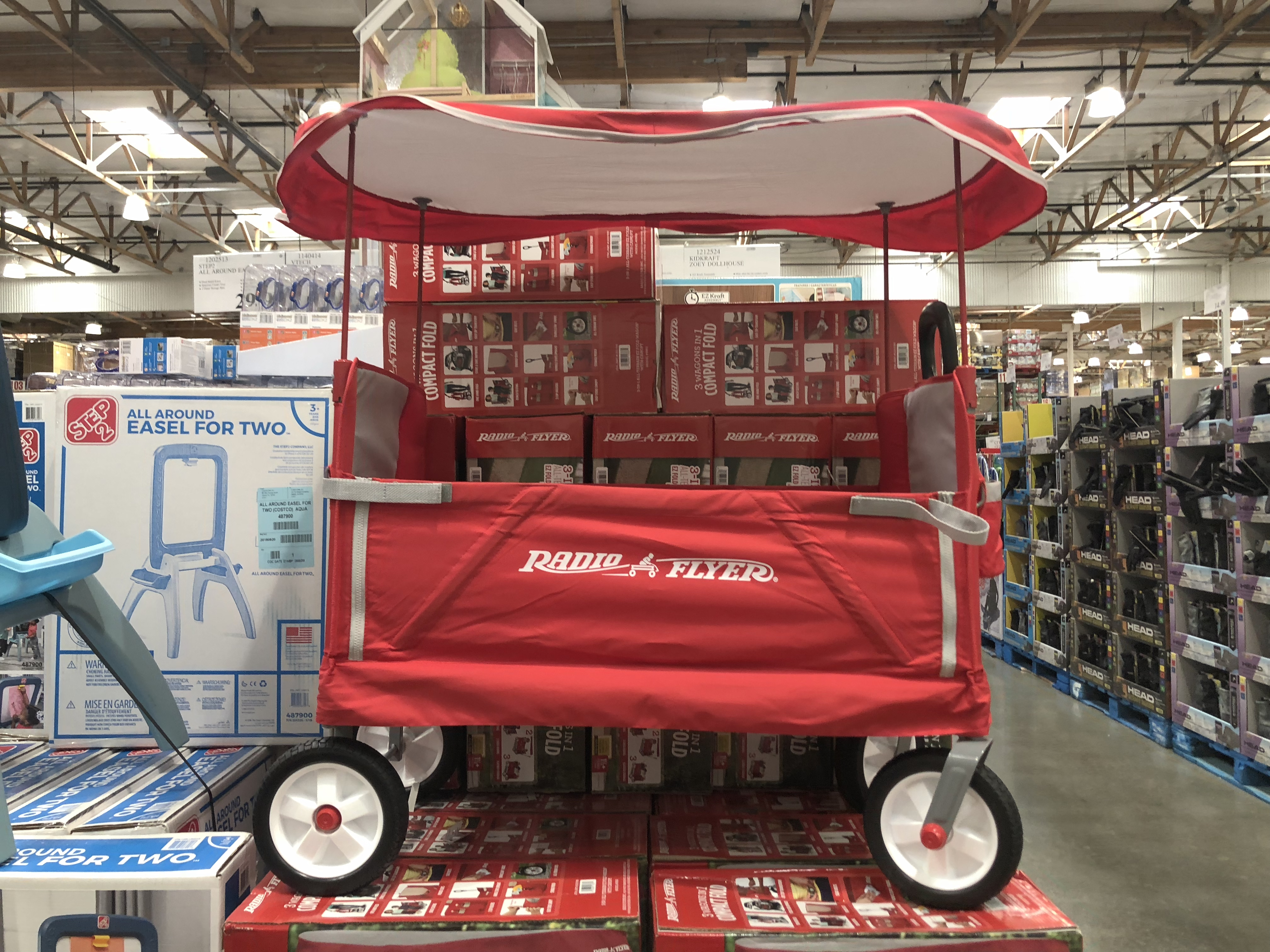 The best holiday toy deals for 2018 include the Radio Flyer wagon at Costco