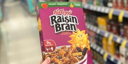Kellogg's Raisin Bran Cereals Only $1.29 + Free Walgreens Store Pick-up